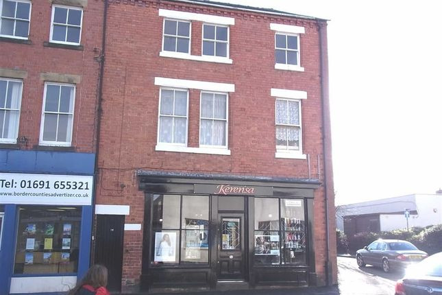 Thumbnail Flat to rent in Flat 2, 14, Oswald Road, Oswestry, Shropshire