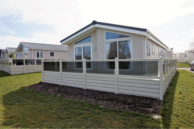 Thumbnail Mobile/park home for sale in Suffolk Sands Caravan Park Carr Road, Felixstowe