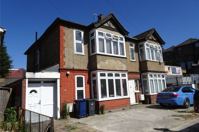 Thumbnail Semi-detached house to rent in Greenford Avenue, Southall, Middlesex