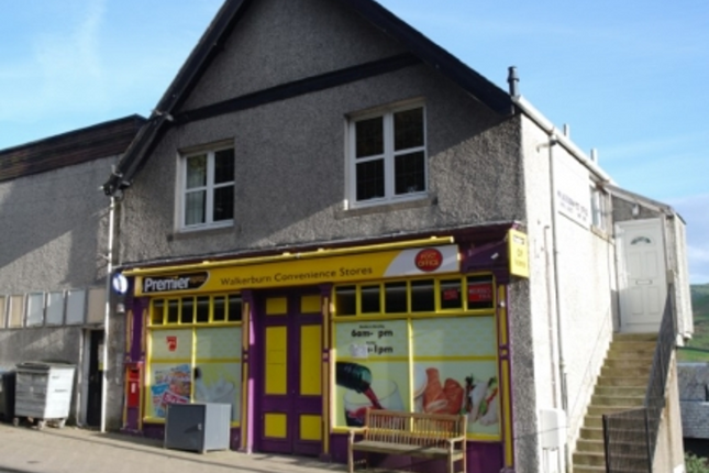 Thumbnail Retail premises for sale in Walkerburn, Scottish Borders