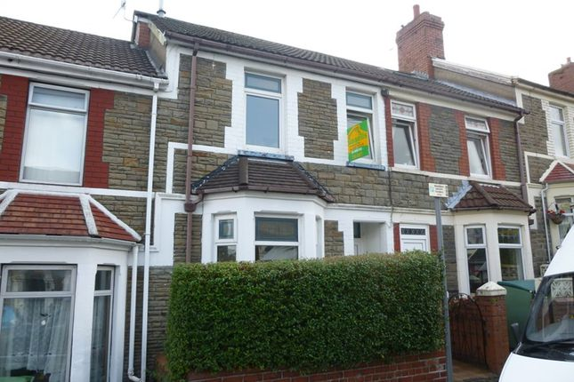 Thumbnail Terraced house to rent in Broomfield Street, Caerphilly
