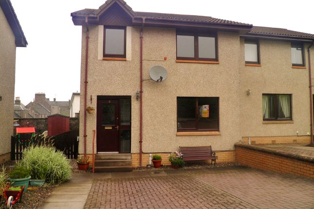 Thumbnail Semi-detached house to rent in Service Road, Forfar