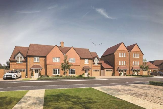 Thumbnail Semi-detached house for sale in Woodhurst Park, Warfield, Berkshire