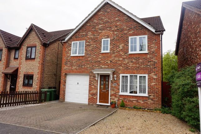 Thumbnail Detached house for sale in Stanier Way, Hedge End