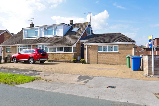 Thumbnail Bungalow for sale in Eastfield Road, Keyingham, Hull