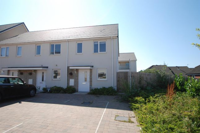 Thumbnail End terrace house to rent in Grassendale Avenue, Plymouth