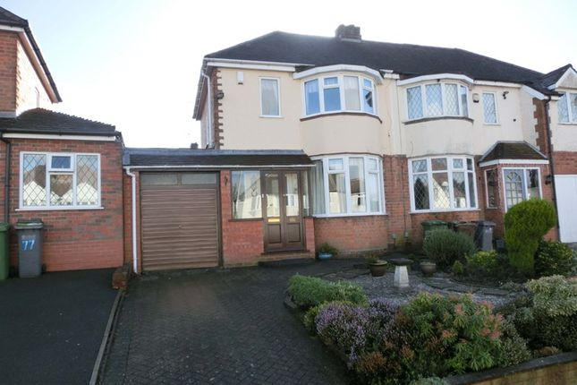 2 bed semi-detached house for sale in Geoffrey Road, Shirley, Solihull