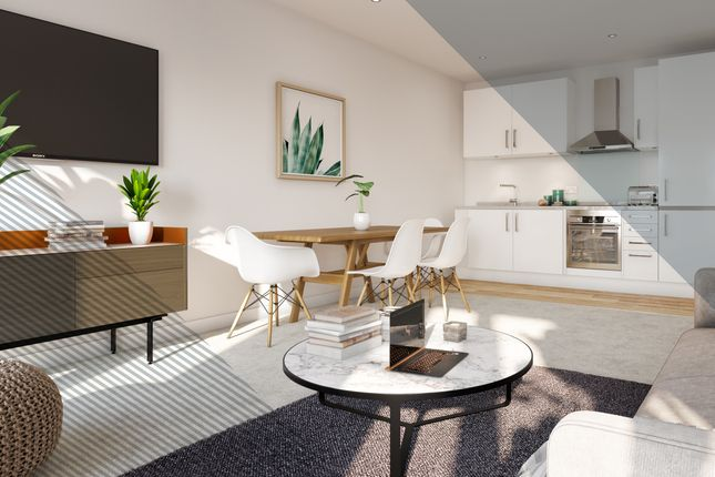 2 bed flat for sale in Church Street, Manchester M30