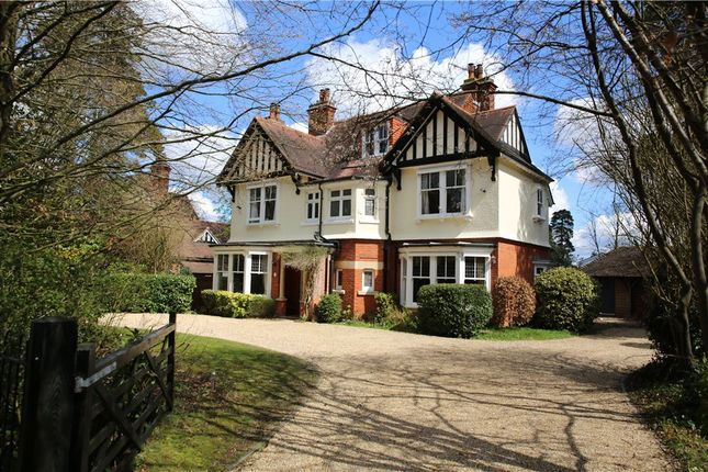 Thumbnail Detached house for sale in The Avenue, Crowthorne, Berkshire