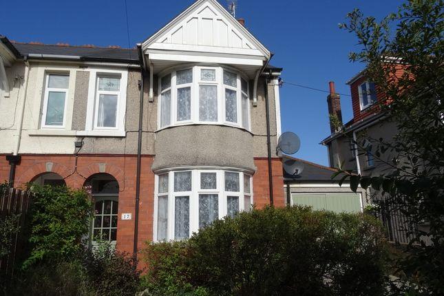 Thumbnail Semi-detached house for sale in Bridgend Road, Newton, Porthcawl