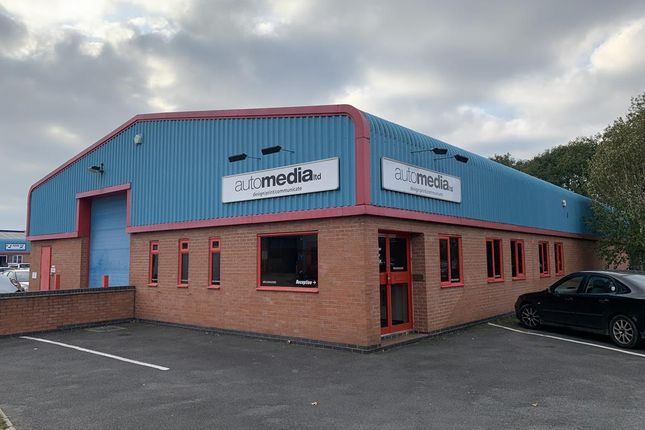 Thumbnail Light industrial to let in Prince William Way, Loughborough, Leics.