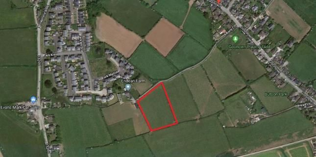 Thumbnail Land for sale in St Agnes, Truro, Cornwall