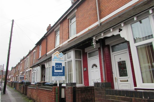 Thumbnail Terraced house to rent in Harley Street, Coventry, West Midlands