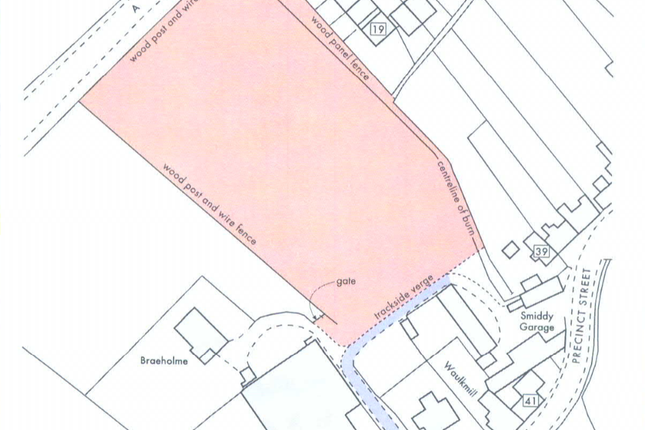Thumbnail Land for sale in Land To North Of Precinct Street, Coupar Angus