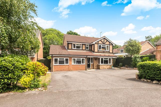Thumbnail Detached house for sale in Andalusian Gardens, Whiteley, Fareham