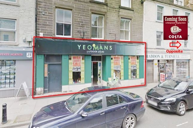 Thumbnail Commercial property for sale in 53, High Street, Hawick, Borders TD99Bp