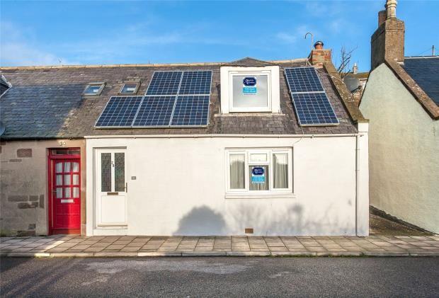 Thumbnail Semi-detached house for sale in Queen Street, Gourdon, Montrose