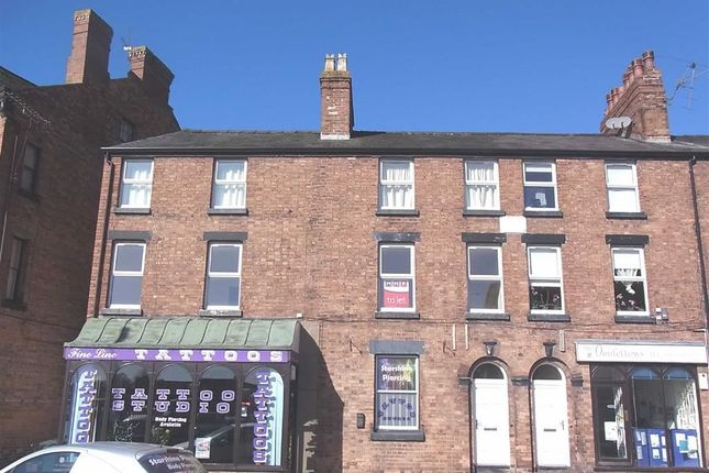 Thumbnail Flat to rent in Boardroom Flat, 21, Oswald Road, Oswestry, Shropshire