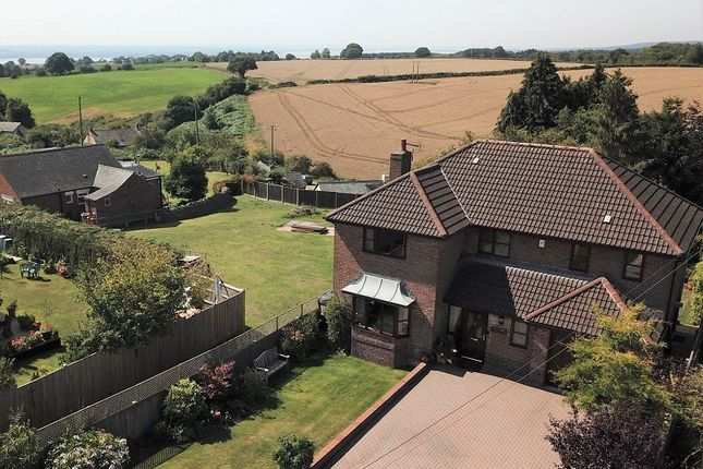Aerial Photo of Oldcroft, Lydney, Gloucestershire. GL15