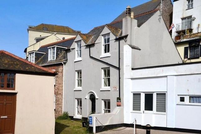 Thumbnail End terrace house to rent in Prings Court, Market Street, Brixham, Devon