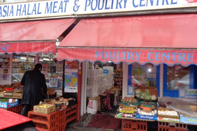 Thumbnail Retail premises for sale in Ladypool Rd, Sparkbrook, Birmingham