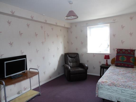 Bedroom of Uxbridge Court, Holyhead Road, Bangor, Gwynedd LL57