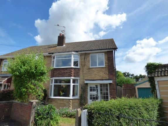 Thumbnail Semi-detached house for sale in Cedar Road, Blaby, Leicester, Leicestershire