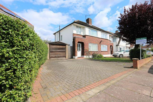 Thumbnail Semi-detached house for sale in Bush Hill Road, Kenton, Harrow