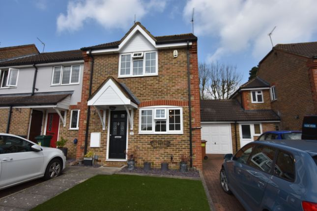 Thumbnail End terrace house for sale in Magnolia Avenue, Abbots Langley