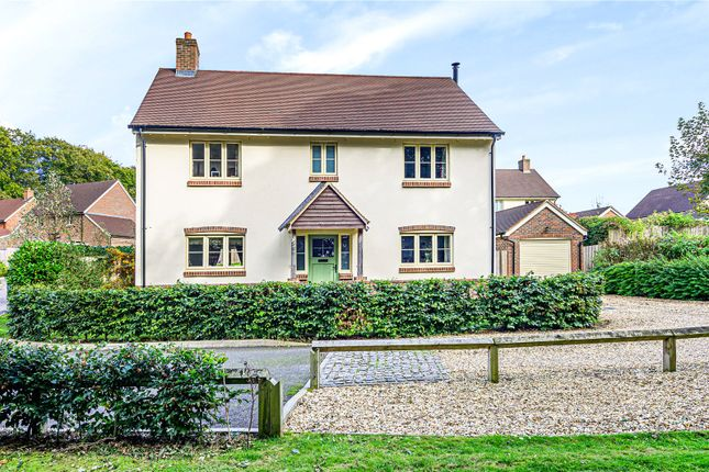 Thumbnail Detached house for sale in Fine Acres Rise, Over Wallop, Stockbridge, Hampshire