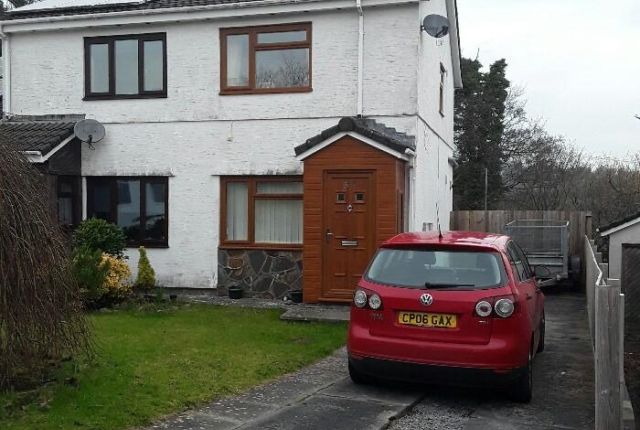 Thumbnail Semi-detached house to rent in Hendre Park, Llangennech, Llanelli