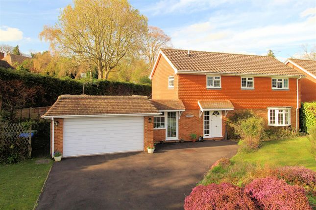 Thumbnail Detached house for sale in Ridge Close, Hook Heath, Woking