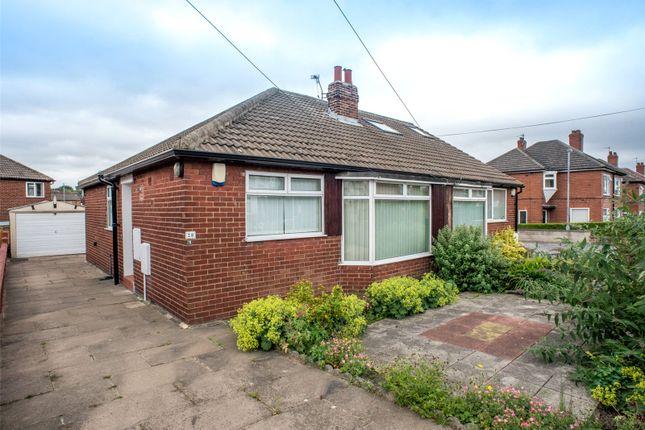 Thumbnail Semi-detached bungalow for sale in Alan Crescent, Leeds, West Yorkshire