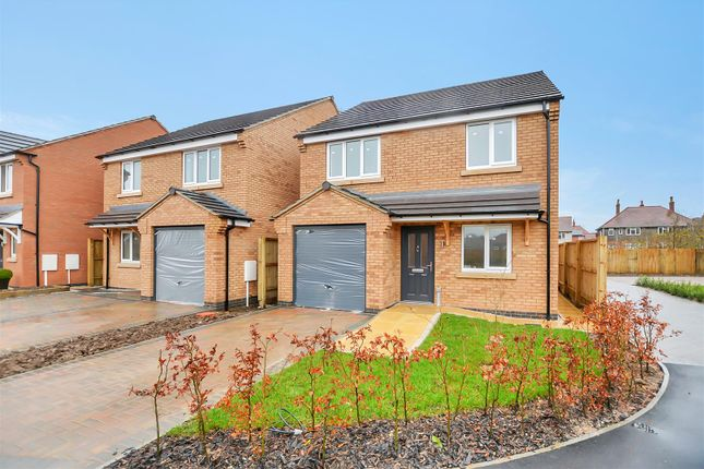 Thumbnail Detached house for sale in Plot 4 'cypress', Northfield Close, Off Northfield Drive, Mansfield