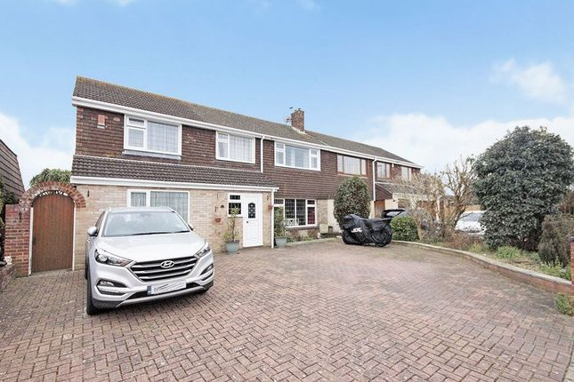 Thumbnail Semi-detached house for sale in Fort Road, Gosport