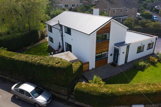 Thumbnail 4 bed detached house for sale in Holt Lane, Lea, Matlock, Derbyshire