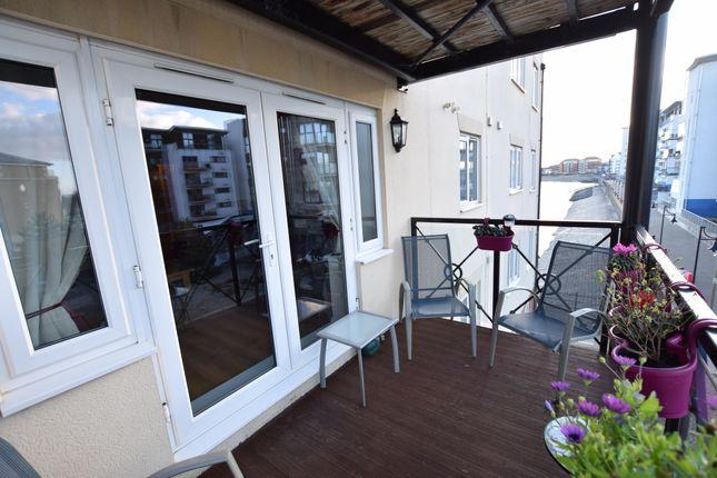 Balcony of Macquarie Quay, Sovereign Harbour North Eastbourne BN23