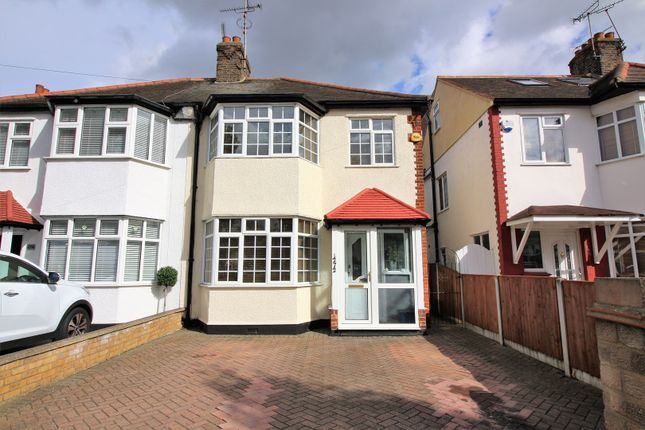 Thumbnail Semi Detached House For Sale In Bournemouth Park Road Southend On