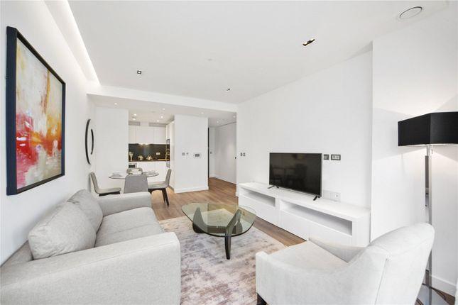 Thumbnail Flat to rent in Satin House, Goodmans Fields, London