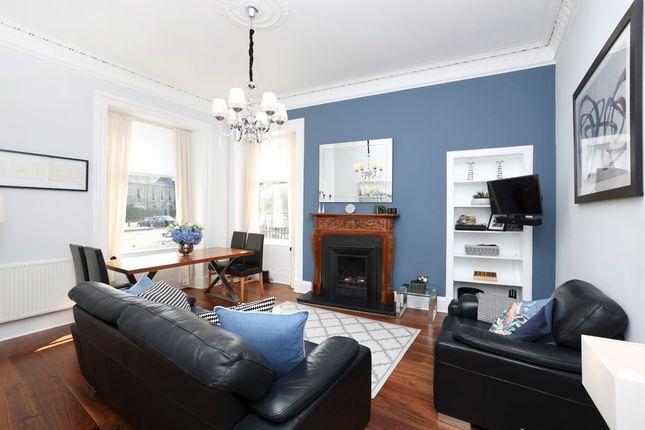 Thumbnail Flat to rent in Bellevue Crescent, Edinburgh