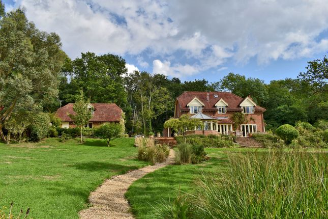 Thumbnail Detached house for sale in Wainsford Road, Pennington, Lymington
