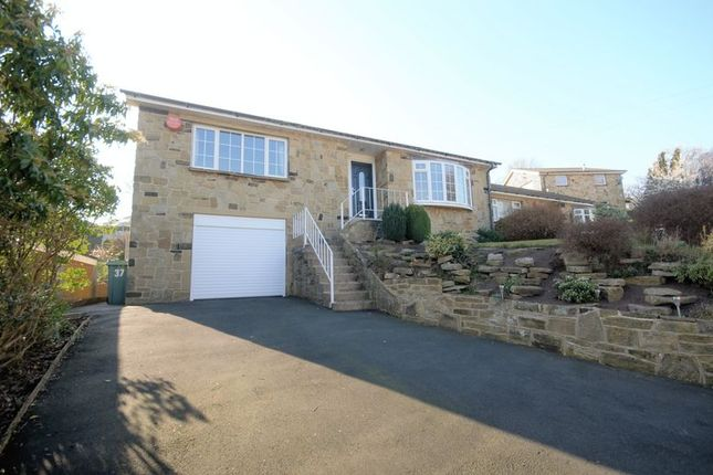 Thumbnail Detached bungalow for sale in 37 Southlands Drive, Huddersfield