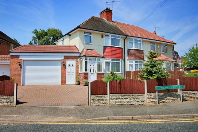 Thumbnail Semi-detached house for sale in Elizabeth Crescent, Oldbury