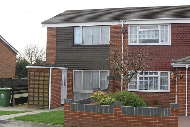 Thumbnail End terrace house to rent in Grainger Gardens, Southampton