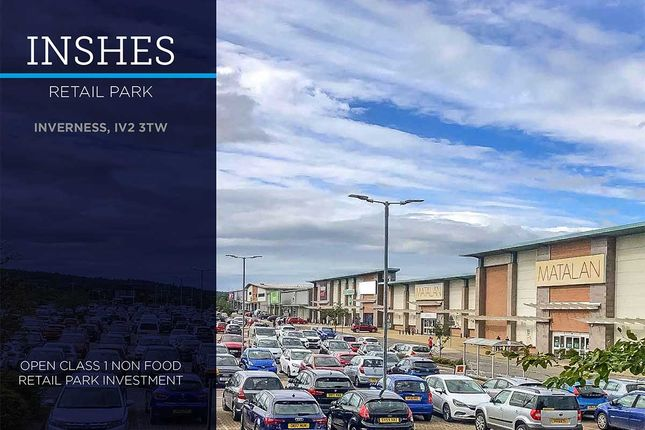 Thumbnail Commercial property for sale in Inshes Retail Park, Inverness
