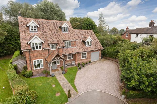 Thumbnail Detached house for sale in Mallard Close, Madeley, Crewe