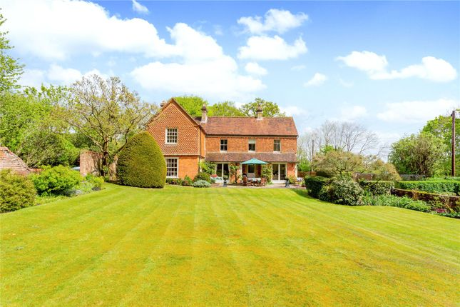 Thumbnail Detached house for sale in Mount Road, Highclere, Newbury, Hampshire