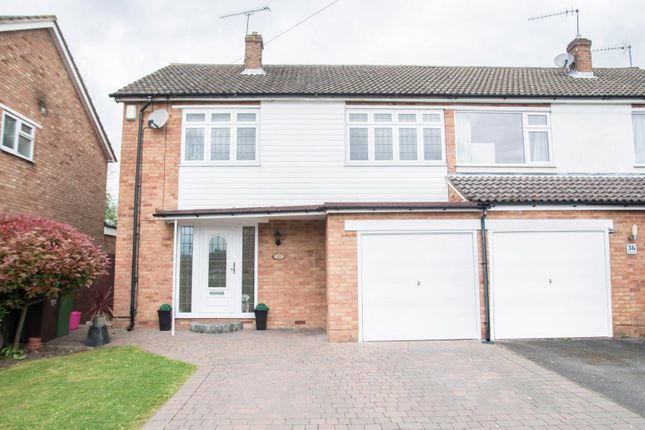 Thumbnail Semi-detached house for sale in Meadow Rise, Blackmore, Ingatestone