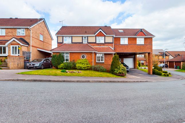 Thumbnail Detached house for sale in Hendre Court, Henllys, Cwmbran