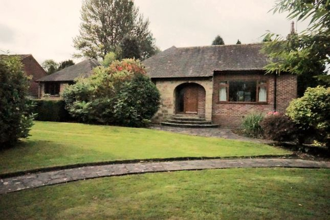 Thumbnail Bungalow for sale in Uttoxeter Road Blythe Bridge, Stoke-On-Trent